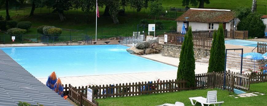 Domaine et camping avec piscines dété