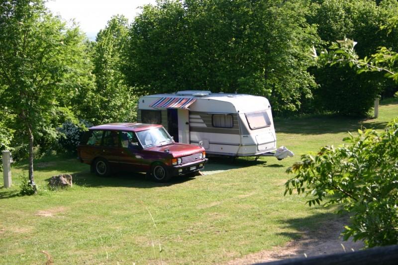 Camping avec emplacement pour caravane en Bourgogne