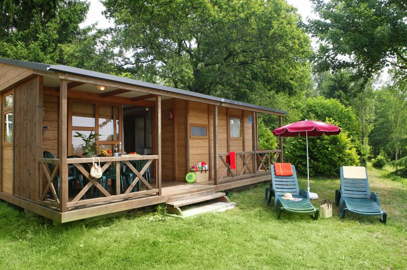 Location de chalet dans camping morvan bourgogne